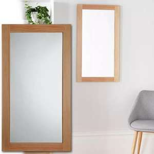 Argos Home Rectangular Thick Wooden Framed Mirror [H90, W50, D1.5cm] - £22.99 + £3.95 Delivery - £26.94 Delivered @ Argos