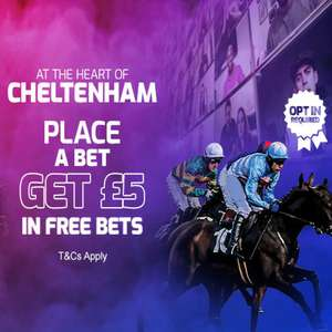 Bet 50p today, get a £5 free bet tomorrow @ BetFred (selected customers)