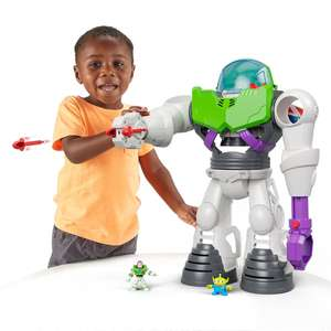 Fisher-Price Imaginext Disney Toy Story Buzz Lightyear Robot Playset £30.99 delivered @ Amazon
