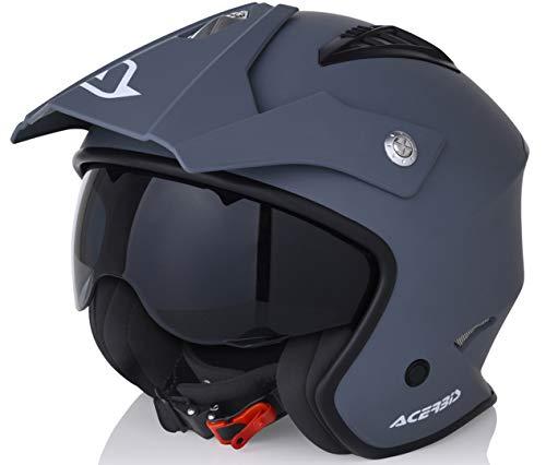 Acerbis All Use Street Helmet, Grey, Size Medium £24.20 delivered at Amazon