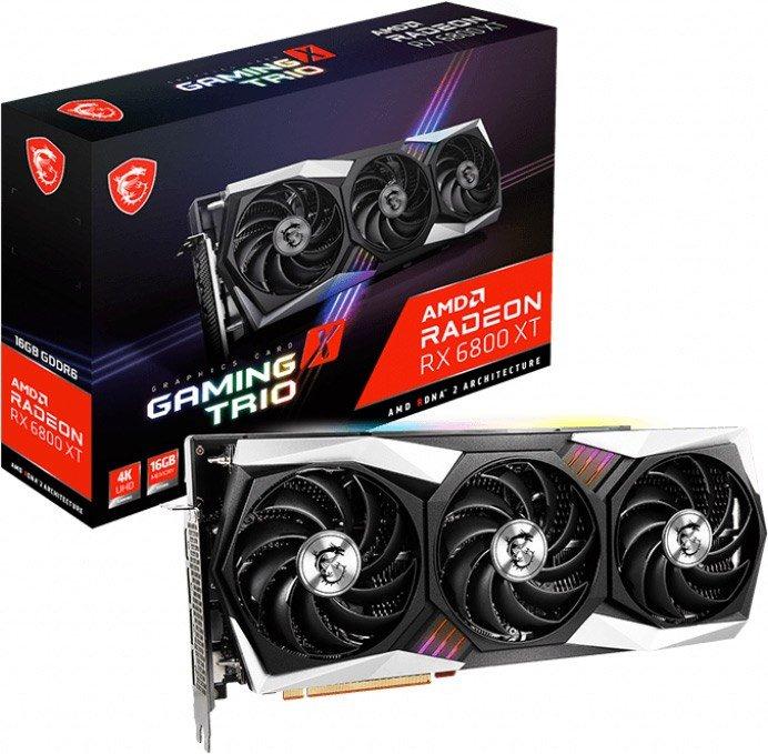 MSI Radeon RX 6900 XT GAMING X TRIO 16GB OC GPU £1599.99 at CCLOnline