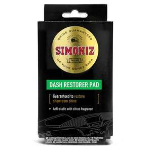 Simoniz Car Cleaning Products reduced on Clubcard Prices from £1 (Minimum Basket / Delivery Charge Applies) at Tesco