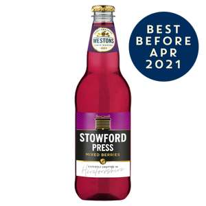 Stowford Press Mixed Berries (12 X 500ML) PET £16 @ Westons Cider