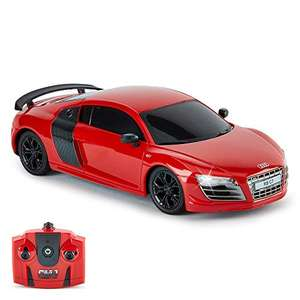 CMJ RC Cars AUDI R8 GT, Officially Licensed Remote Control Car with Working Lights £7.98 (Prime) + £4.49 (non Prime) at Amazon