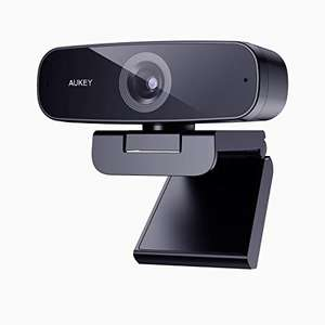 AUKEY Webcam 1080p Full HD £25.49 with voucher - Sold by Key Series UK and Fulfilled by Amazon