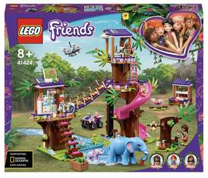 LEGO Friends: Jungle Rescue Base Treehouse Vet Set (41424) - £54.99 delivered at IWOOT