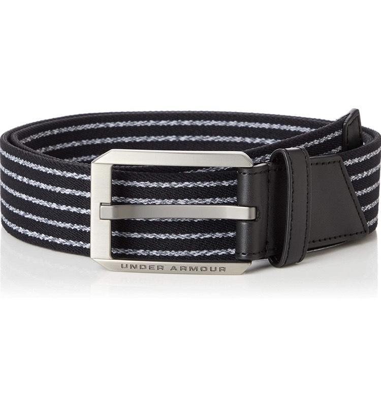 Under Armour Men UA Men's Stretch Belt, Black size 30 - £5 prime / £9.49 nonPrime at Amazon