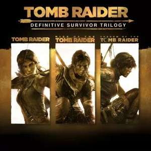 Tomb Raider: Definitive Survivor Trilogy - includes all DLC [PS4] £17.99 with PS+ @ PlayStation PSN