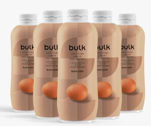 50% off Liquid Egg Whites 6X 1KG - Best Before 22/04/21 - £17.49 plus Free Standard Delivery with code @ Bulk