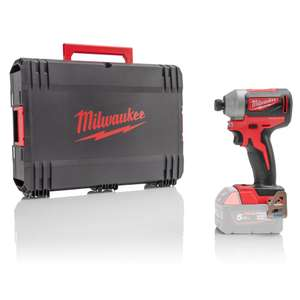 Milwaukee Brushless Impact Driver 180NM 18V (Body only) + Case £55.19 (UK Mainland Delivery Only) @ SGS Engineering UK