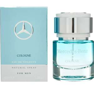 Mercedes Benz Cologne (edt) 40ml £12 + £3.99 delivery @ tk Maxx