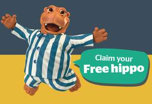 Claim your Free Silentnight Hippo Toy with code - £3.95 Delivery applies @ Silentnight Shop