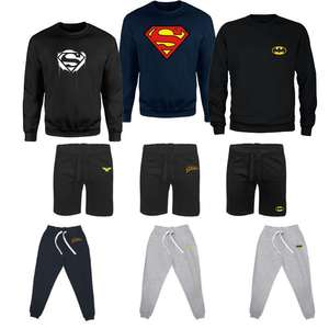 Superhero Sweater + Either Shorts or Joggers - £21.98 Delivered @ Zavvi
