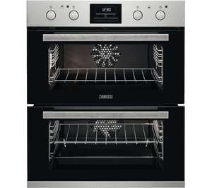 Zanussi ZOF35802XK Built Under Electric Double Oven - Stainless Steel for £326.97 delivered @ Currys PC World Business