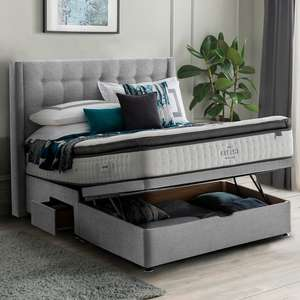 Silentnight Ottoman Divan Base with Headboard - £399.99 delivered @ Costco