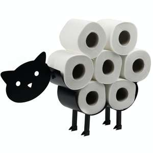 Cat Toilet Roll Holder £7.99 (£2.95 delivery) @ Roov