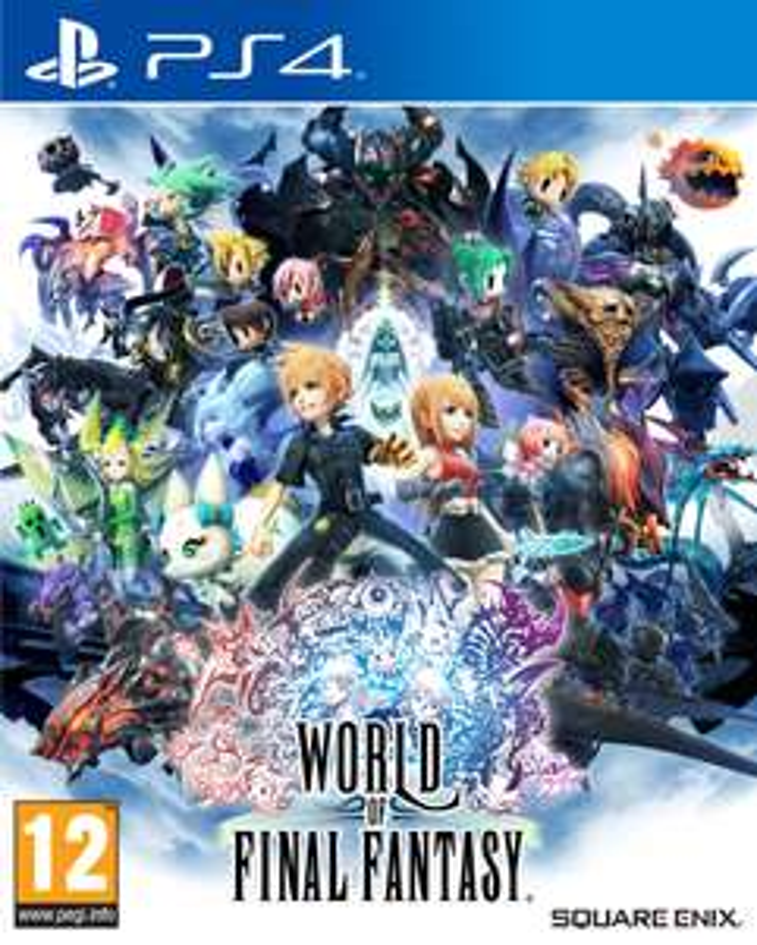 World of Final Fantasy (PS4) £7.99 Delivered @ Square Enix