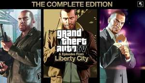[Steam] Grand Theft Auto IV: The Complete Edition (PC) - £5.09 @ Steam Store