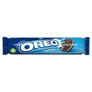 Oreo Vanilla Biscuits 154G - (Minimum Basket / Delivery Fees Apply) 50p Clubcard Price @ Tesco