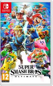 Nintendo Switch Super Smash Bros. Ultimate - £40.99 with code delivered @ Currys PC World