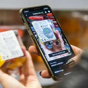 25% Off Food Using Mobile Pay and Go - Up To The Value of £45 (Account Specific / Sparks Card Members) at Marks & Spencer