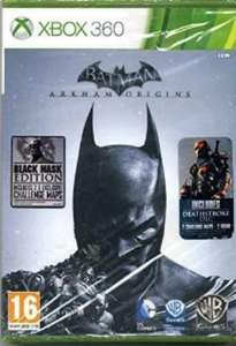Refubished Batman Arkham Origins - Black Mask Edition - Xbox 360 £2.98 ebay / musicmagpie
