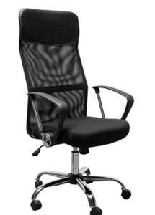 HOMCOM Office Chair, Black - £58.49 @ Aosom