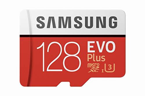 128GB Samsung EVO Plus Micro SDXC UHSI U3 with Adapter 100/60MB/s R/W £11.96 Prime / £16.45 NP (UK Mainland) Sold by Amazon EU @ Amazon