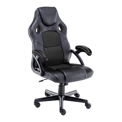 play haha. Gaming Chair Racing Style Office Swivel Computer Desk Chair Ergonomic (Black) - £69.20 (UK Mainland) Sold by Amazon EU @ Amazon