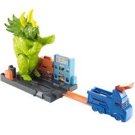Hot Wheels City Smashin' Triceratops car toys playset for £12.99 delivered (mainland UK) @ Bargain Max