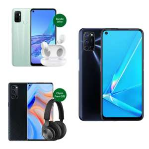 OPPO Store Spring Sales (including bundles and freebies) from £135 delivered @ Oppo