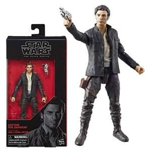 Star Wars Black Series 6 Inch Action Figure Wave 13 - Captain Poe Dameron £8.95 + £2.95 delivery at Star Action Figures