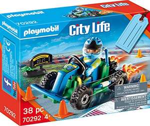 Playmobil City Life 70292 Go-Kart Racer - £5.99 (Prime) + £4.49 (non Prime) at Amazon