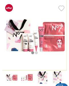 2 x No7 Restore & Renew FACE & NECK MULTI ACTION Collection - £43.74 @ Boots + 3 packs of wipes free