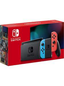 Nintendo Switch 32GB – Neon Red/Blue - 2 available - £195 @ ElekDirect