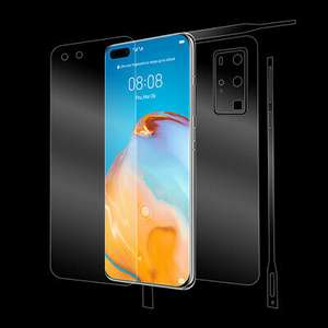 Huawei P40 Pro FULL BODY SHIELD Invisible Screen Protector | Ultimate Shield £12.99 at ebay ultimate.shield