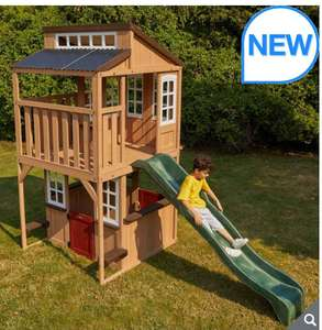 Cedar Summit Lofty Heights Playhouse with Slide (3-10 Years) £649.99 @ Costco