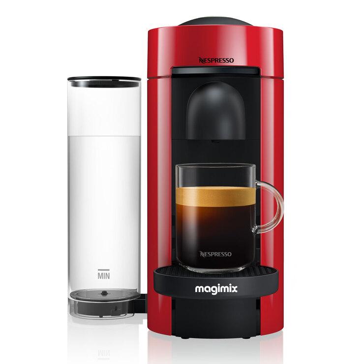 Magimix Nespresso Vertuo Plus Limited Edition Coffee Machine, Red / Black / Cream £67.99 at Costco