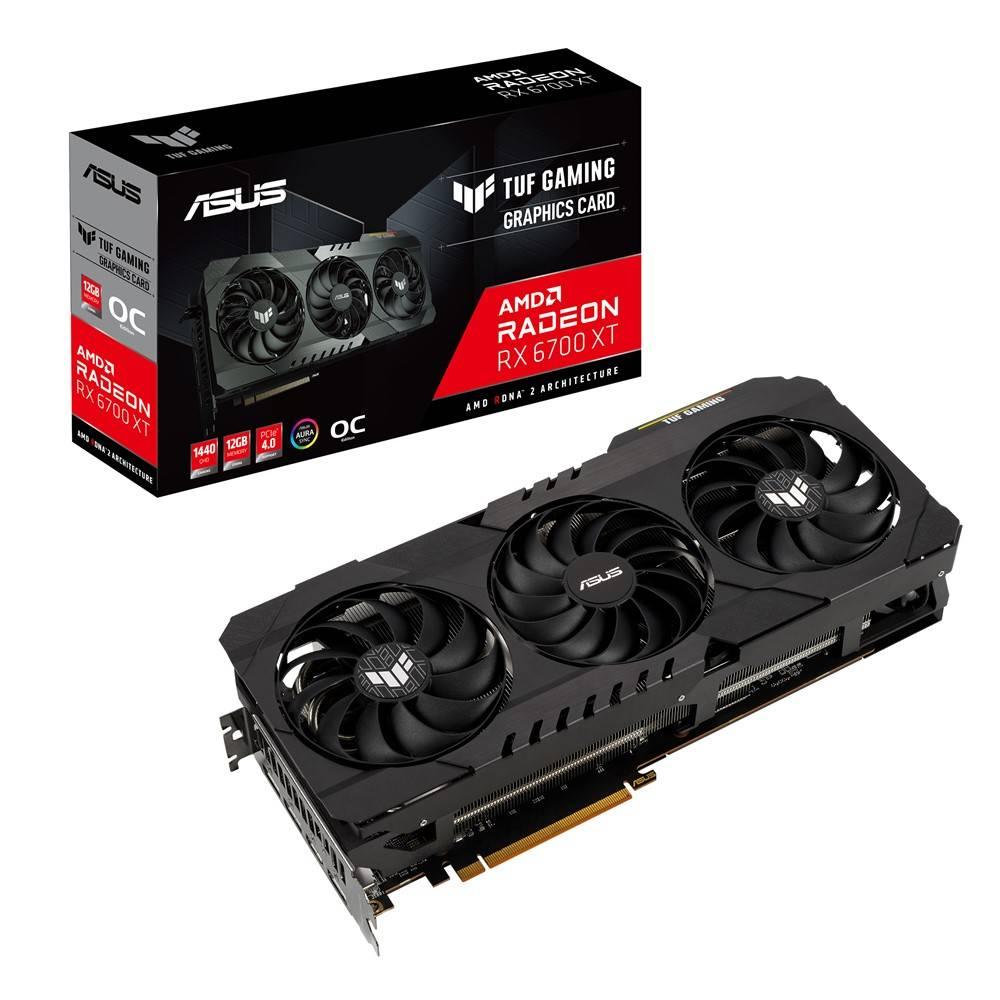 Asus AMD Radeon TUF RX 6700 XT GDDR6 12GB Graphics Card £779.99 @ AWT-IT