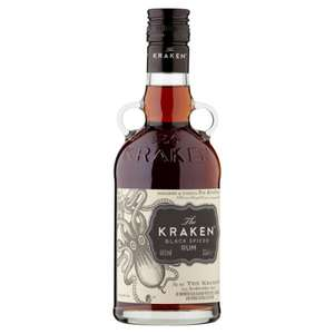 The Kraken Black Spiced Rum 35cl £8 (+ Delivery Charge / Minimum Spend Applies) @ Asda