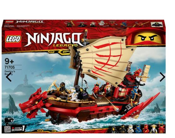 LEGO Ninjago 71705 Destiny Bounty £71.99 Delivered @ IWOOT
