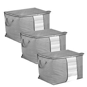 Set of 3 Storage Bags | Pukkr Horizontal £4.89 + £2.95 delivery @ ROOV