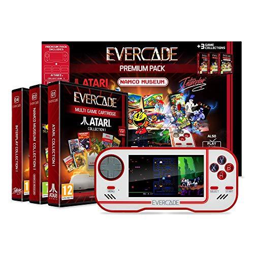Evercade Premium Pack (Namco Collection 1, Atari Collection 1 & Interplay Collection 1) £56.55 delivered (UK Mainland) @ Amazon Germany