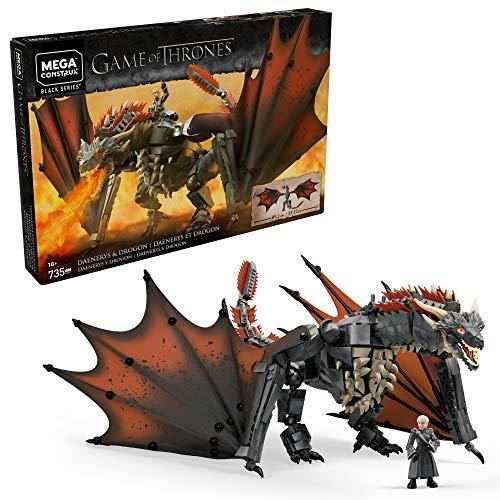 Mega Construx Game Of Thrones Daenerys and Drogon GKG97 £28.49 @ Amazon