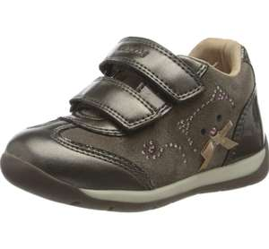 Geox girl's first walker shoes size 6 now £14.25 prime / £18.74 non prime at Amazon