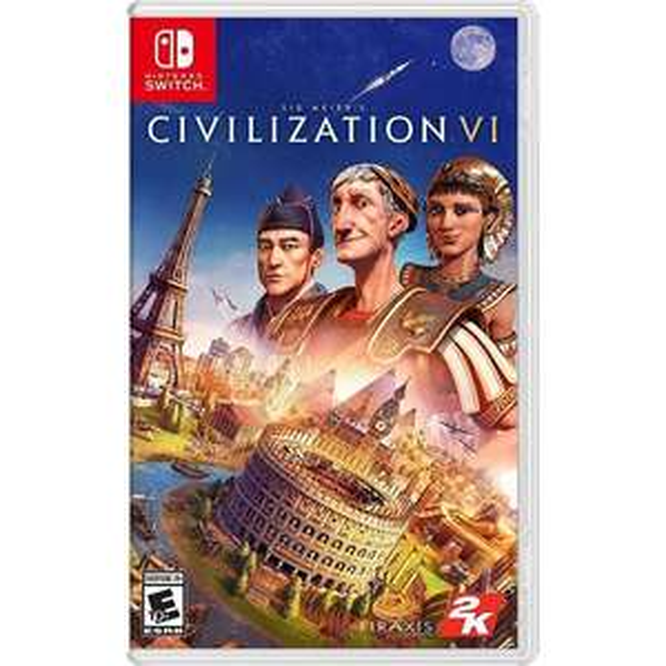 Sid Meier's Civilization VI - Nintendo Switch £16.56 - 365games.co.uk