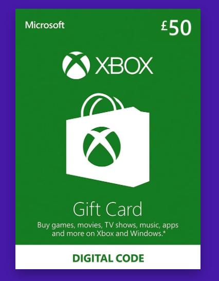 Xbox Live Gift Card 50 GBP Xbox Live Key UNITED KINGDOM £40.04 @Reflected / Eneba