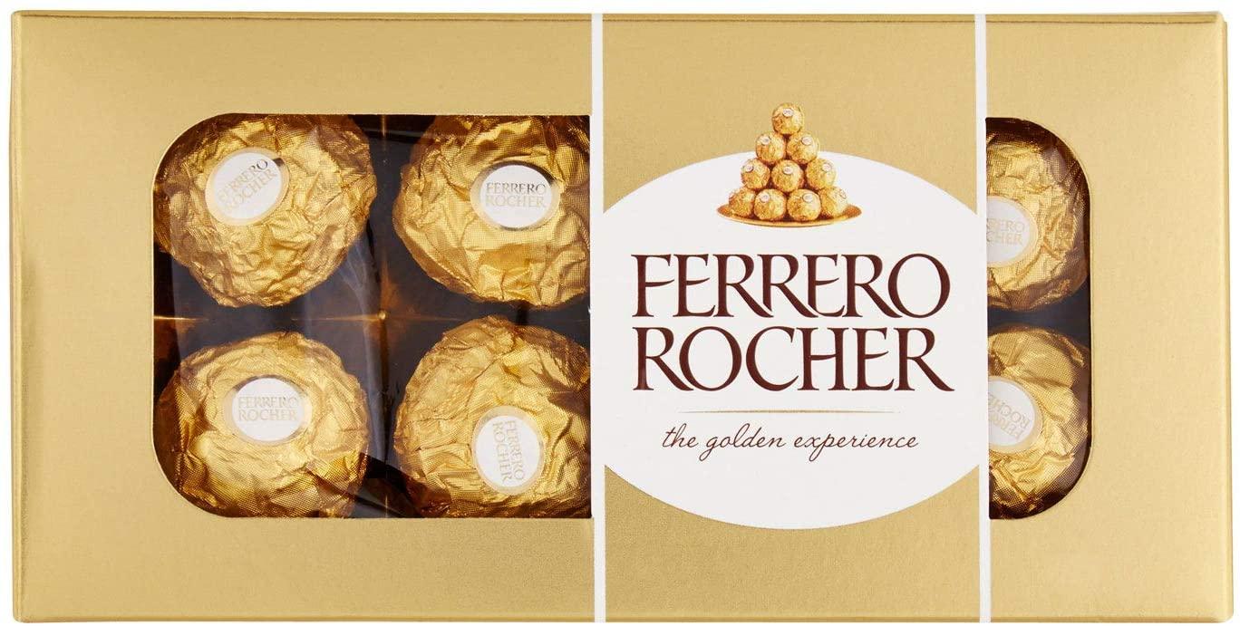 Ferrero Rocher Chocolates 8 Piece, 100g - £1.69 instore @ Farmfoods, Sutton
