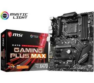 MSI X470 GAMING PLUS MAX Motherboard ATX, £76.27 delivered at More Computers