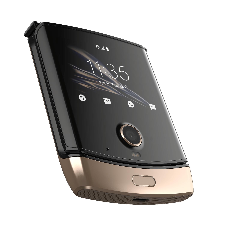 Motorola Razr Brush Gold - £449 delivered @ Motorola Store